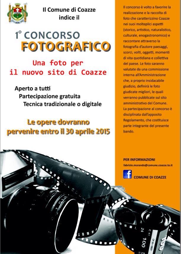 """Concorso Fotografico: """"Una Foto per il nuovo sito di Coazze"""""""