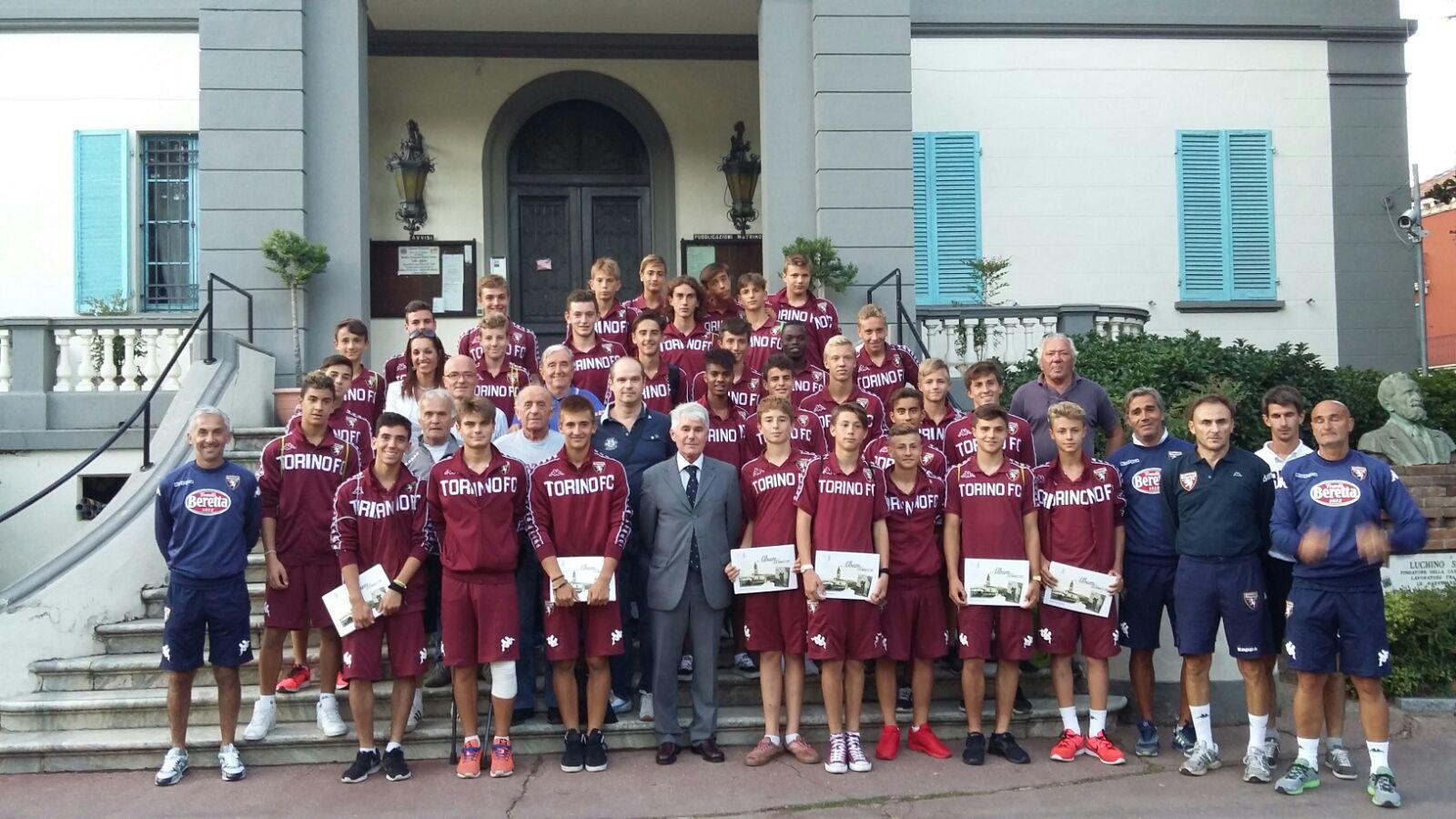 Giovanissimi Nazionali del Torino FC a Coazze