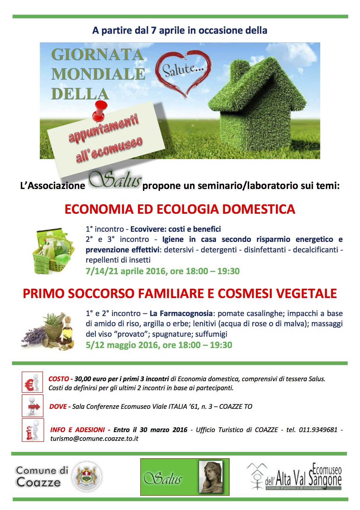 Seminari e laboratori all'ecomuseo