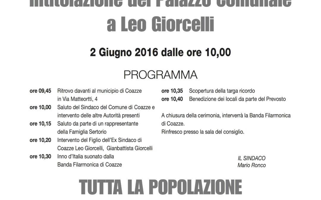 Manifesto Giorcelli