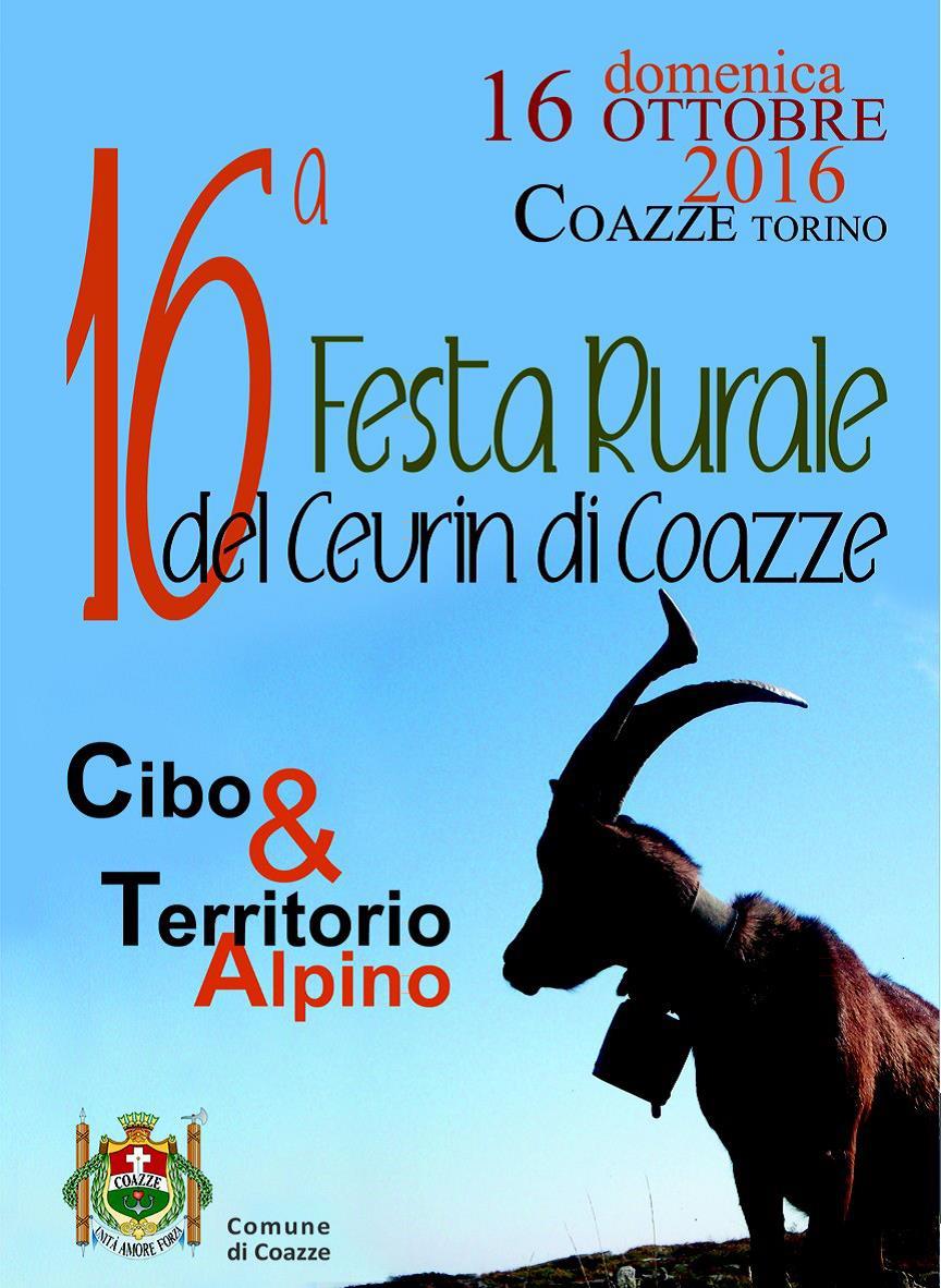 16 Festa Rurale del Cevrin di Coazze