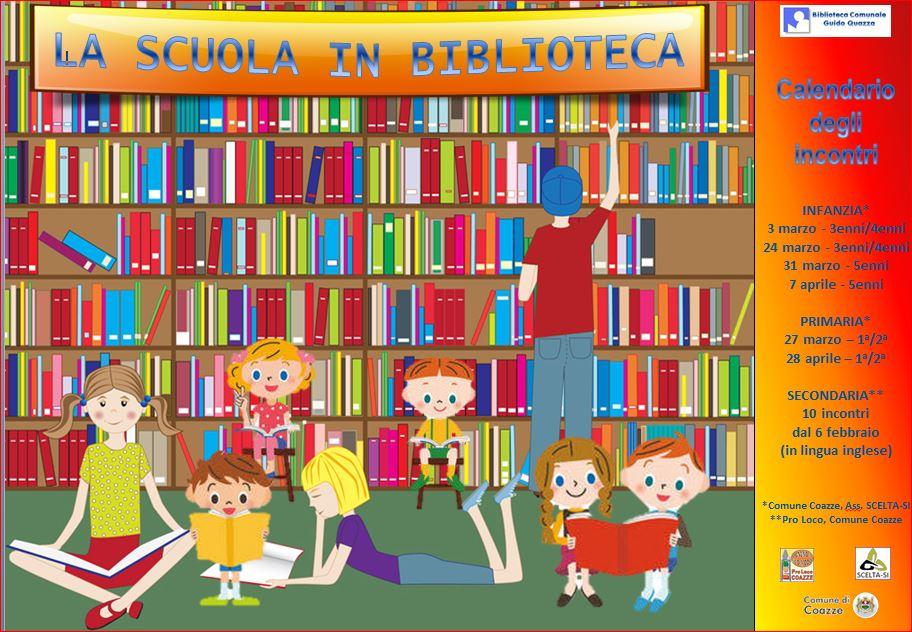 Le scuole vanno in biblioteca
