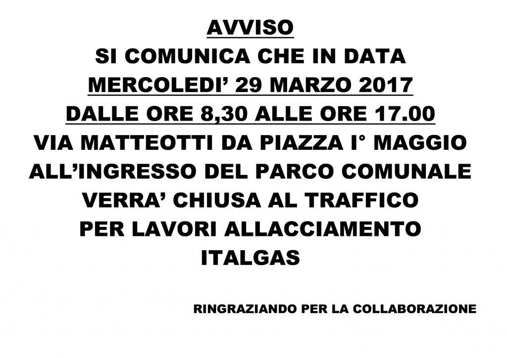 ITALGAS AVVISO
