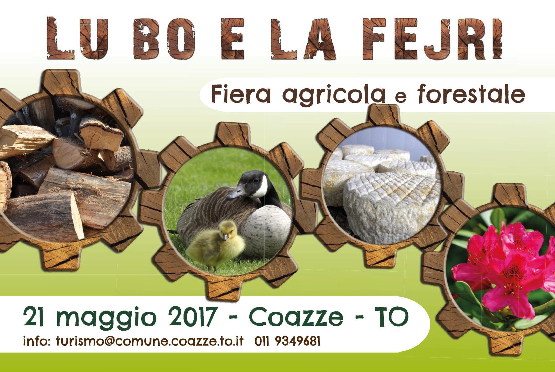 21 MAGGIO FIERA AGRICOLA-FORESTALE