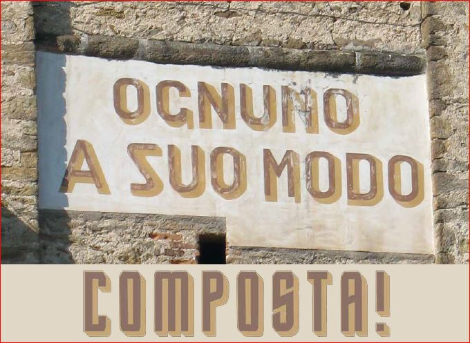 CORSO  PUBBLICO SUL COMPOSTAGGIO