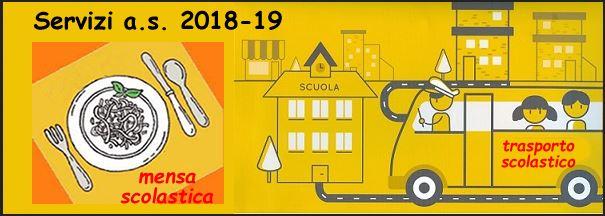 ISCRIZIONE AI SERVIZI SCOLASTICI ANNO SC. 2018/19