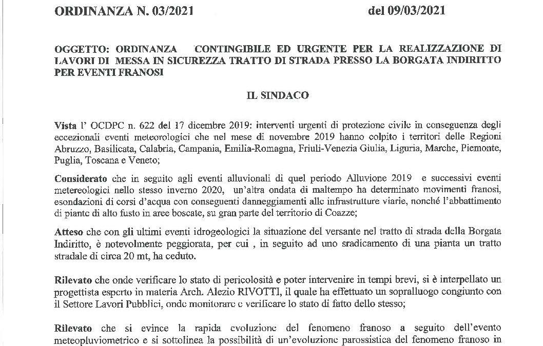 Ord.03_2021_Frana Indiritto